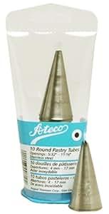 Ateco 10-Piece Star Pastry Tip Set in Tube