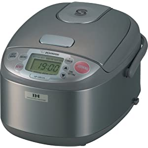 Zojirushi NP-GBC05 3-Cup Rice Cooker and Warmer with Induction Heating System