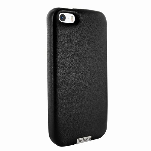 Great Sale Apple iPhone 5 / 5S Piel Frama Black FramaGrip Leather Cover