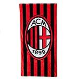A.C.Milan ACミラン オフィシャル ビーチタオル(ストライプ)