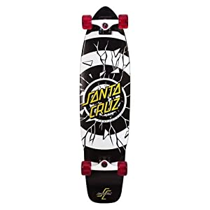 Santa Cruz Skate Rob Dot Sk8 Cruzer Complete Skateboard, 9.3 x 36-Inch