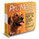 ProMeris for Large Dogs 55 - 88 Pounds 6 Doses USA Version / EPA Registered