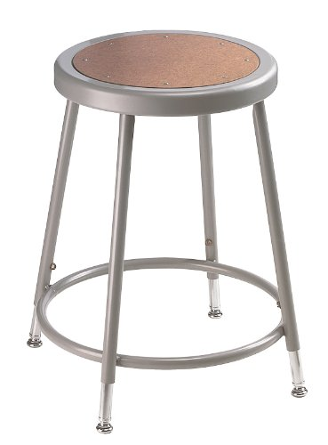 national-public-seating-6218h-grey-steel-stool-with-hardboard-seat-adjustable-19-27