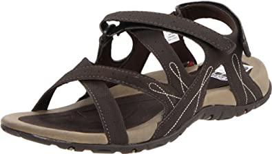Hi-Tec Women's Waimea Falls Backstrap Sandal,Chocolate/Wheat/Sand,9 M