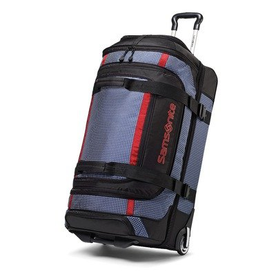 Samsonite Luggage Ripstop Wheeled Duffel, Blue, 35 Inch best deal