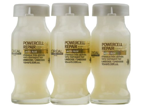 L'oreal Serie Expert Powercell Repair Repairing Treatment for Very Damaged Hair 3 Vials