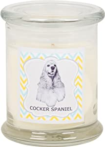 Aroma Paws Breed Candle Jar, 12-Ounce, Cocker Spaniel