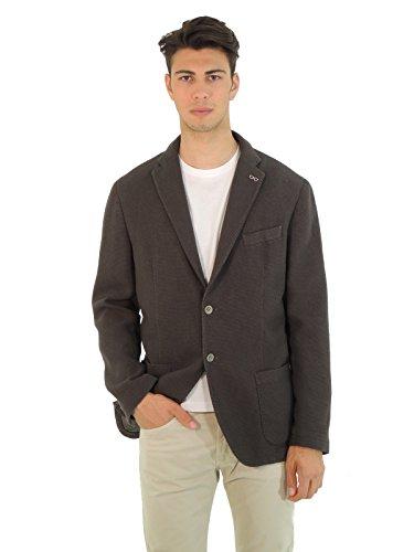Manuel Ritz giacca uomo in cotone 1934G2038TX (56, MARRONE)