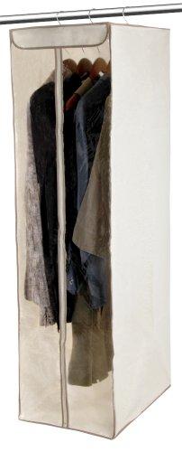 DAZZ Hanging Dress Wardrobe with Cedar, Natural Canvas