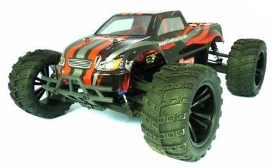 Brushless RC Cars High Performance Buggy 4WD Himoto 1:10 Scale Bowie Red