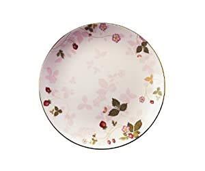 Wedgwood WILD STRAWBERRY COUPE PLATE PINK 8Ó
