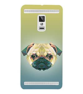 Dog 3D Doggy Puppy 3D Hard Polycarbonate Designer Back Case Cover for VIVO X3S