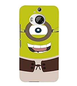 EPICCASE Green Minion Mobile Back Case Cover For HTC One M9 Plus (Designer Case)