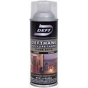deft defthane interior exterior clear polyurethane satin spray 11 5 ounce aero ebay