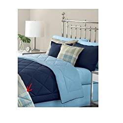 Martha Stewart Essentials Banner Plaid Twin Comforter