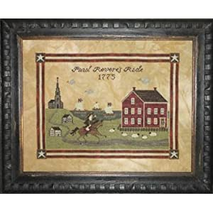 Paul Revere's Ride - Cross Stitch Pattern