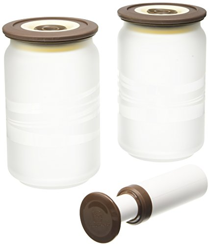 vacuumsaver-cfps0a02-01p4-set-de-2-botes-de-cristal-traslucido-bomba-075-l-clasico-color-cafe