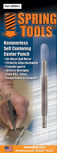 SPRING TOOLS Self Centering Center Punch