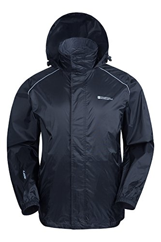 Mountain Warehouse Herren Pakka Wasserdicht Jacke Regenjacke