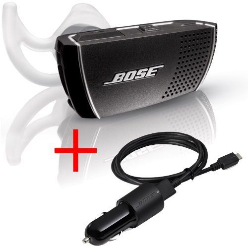 Bose Bluetooth Headset Series 2 - Right Ear & Bose Bluetooth Car Charger (Bundle)