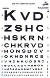 Snellen Type Plastic Eye Chart - 10