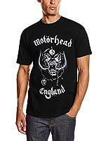 Motorhead Men's England Short Sleeve T-Shirt