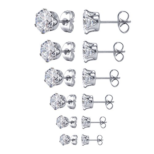 jstyle-gioielli-in-acciaio-inossidabile-orecchini-punto-luce-di-zirconia-cubica-per-donna-6-coppie