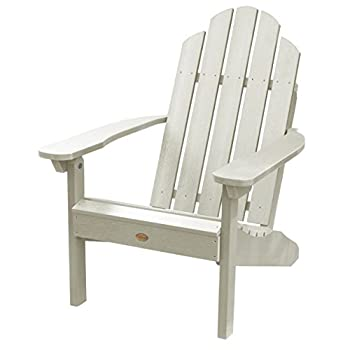 Highwood Classic Westport Adirondack Chair, Whitewash