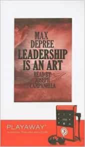 Leadership Is An Art Library Edition Max Depree