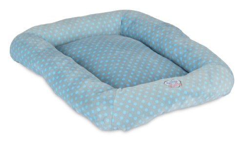 Precision Pet Snoozzy Polka Dot Baby Bumper Bed, Size 2000, Blue (Precision Pet Bumper Pillow Bed compare prices)