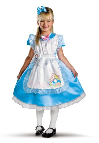 Alice Deluxe Child Costume, Child S(4-6)