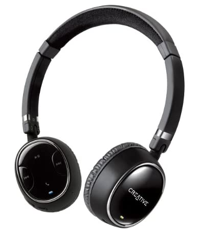 【iPhone、iPad、Android搭載スマートフォン対応】 Creative WP-350 マイク搭載 Bluetooth apt-X A2DP AVRCP HSP HFP ワイヤレスヘッドホンHS-WP350
