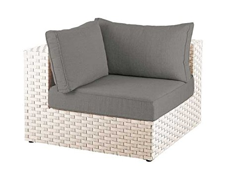 Diamond Garden Lounge Toulouse, Eckteil White Shell jetzt bestellen