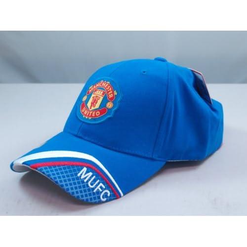 FC MANCHESTER UNITED OFFICIAL TEAM LOGO CAP / HAT   MU016