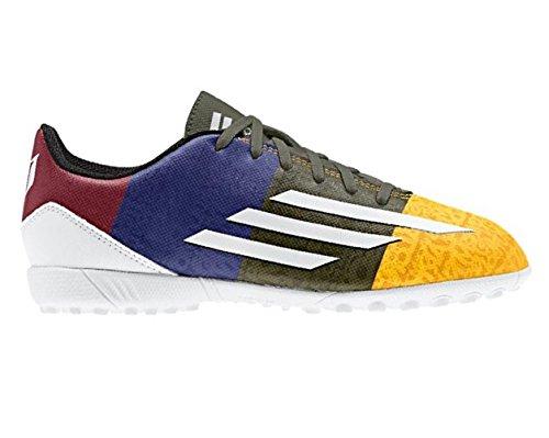 Adidas F5 Adizero TF J Kids Messi Gold Grün Lila Größe 28