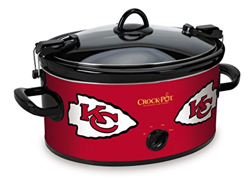 Crock-Pot Kansas City Chiefs NFL Cook & Carry Slow Cooker (Kc Chiefs Crock Pot compare prices)