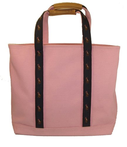 Polo Ralph Lauren Tote Bag Pink Pony Multi