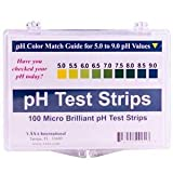 pH Test Strips by Vaxa -100 Strips