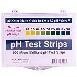 pH Test Strips by Vaxa -100 Strips ~ VAXA