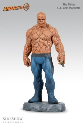 Buy Low Price Sideshow Fantastic Four the Movie – The Thing 1/4 scale Maquette Figure (B000EIC7FO)