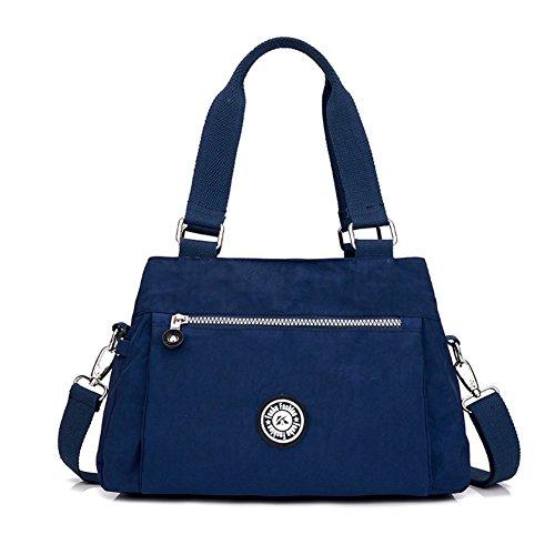 Messenger Bag impermeabile/sacchetto di nylon signora casuale esterno leggero/borse della spalla coreano-C