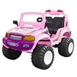 Off Roader Kids Car Color: Red
