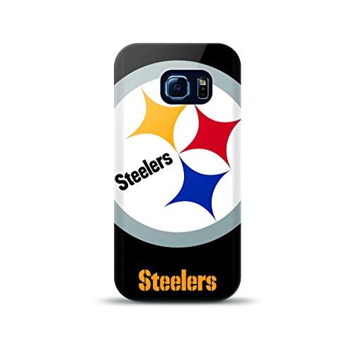 Mizco Sports Case Samsung Galaxy S6 Edge Licensed TPU NFL Pittsburg Steelers Case from Mizco Sports