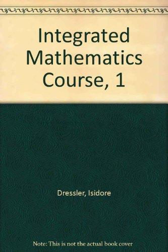 Integrated Mathematics Course, 1