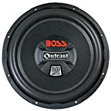 41JuBru9hxL. SL160  Lowest Price Boss LAC128D 12 Inch Die Cast Aluminum Basket DVC Subwoofer