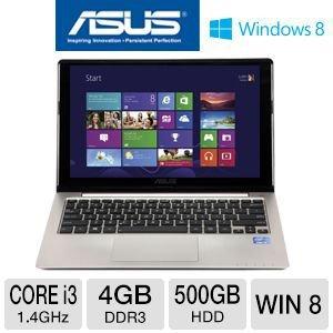 ASUS Q200E-BHI3T45 11.6″ Touchscreen, Intel Core i3 2365M, 4GB Memory 500GB HDD Windows 8 64-Bit Notebook