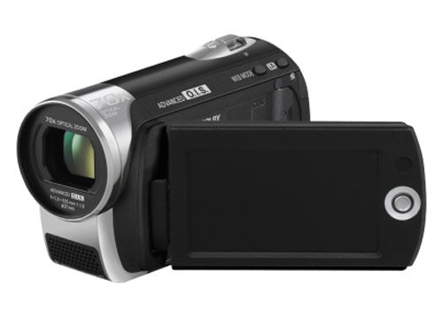Panasonic SDR-S26 Flash Memory Camcorder With SD Card Slot - Black