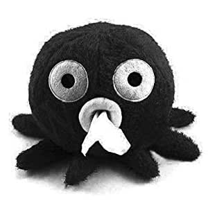 Lovely Octopus Toilet Tissue Holder Paper Cover Roll Napkin Container Box (Black)