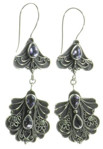 Silver Butterfly Earring Jewelry of Bali