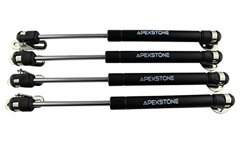 Apexstone 100N/22.5LB 10'' Gas Strut/Spring/Prop/Shock/Lift Support (Pack of 4) (Cars Door Hinges Lift compare prices)